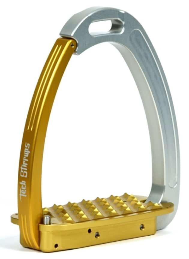 Tech Venice Gold Stirrups