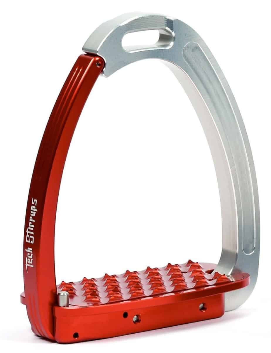 Tech Venice Young Red Stirrups