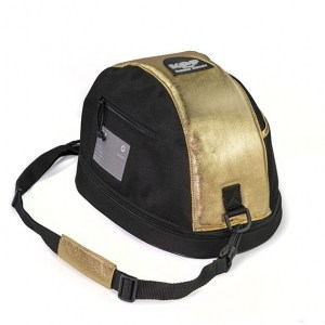 KEP Hat Bag- Gold Leather
